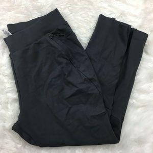 Adidas Womens Gray Elastic Waist Jogger Pants Sz L